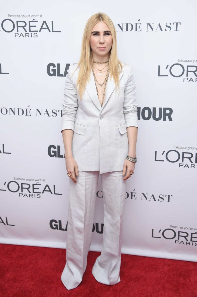 Zosia Mamet at 2017 Glamour Women of the Year Awards in NYC 11/13/2017-1