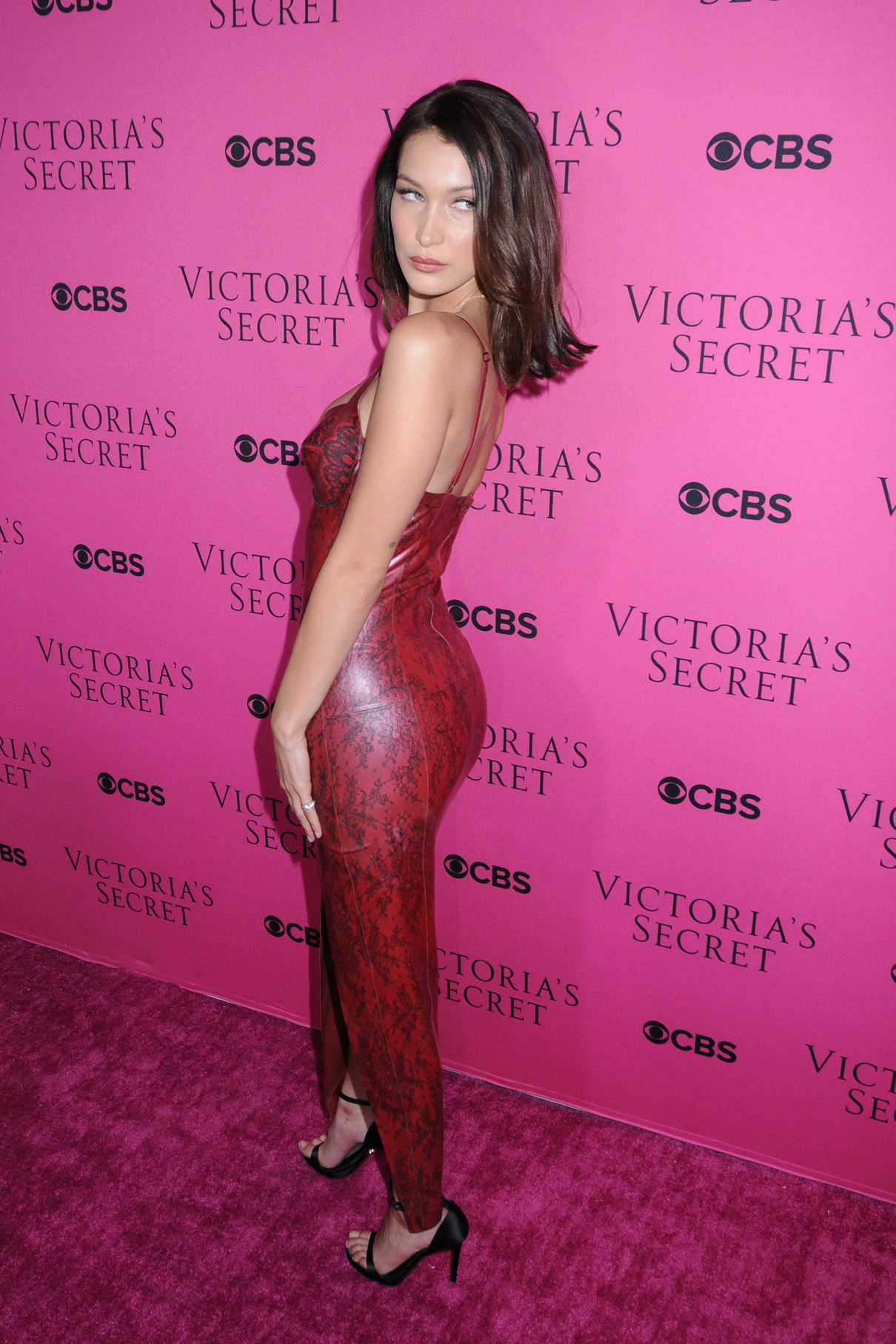 Bella Hadid at 2017 Victoria's Secret Fashion Show in New York 11/28/2017-3