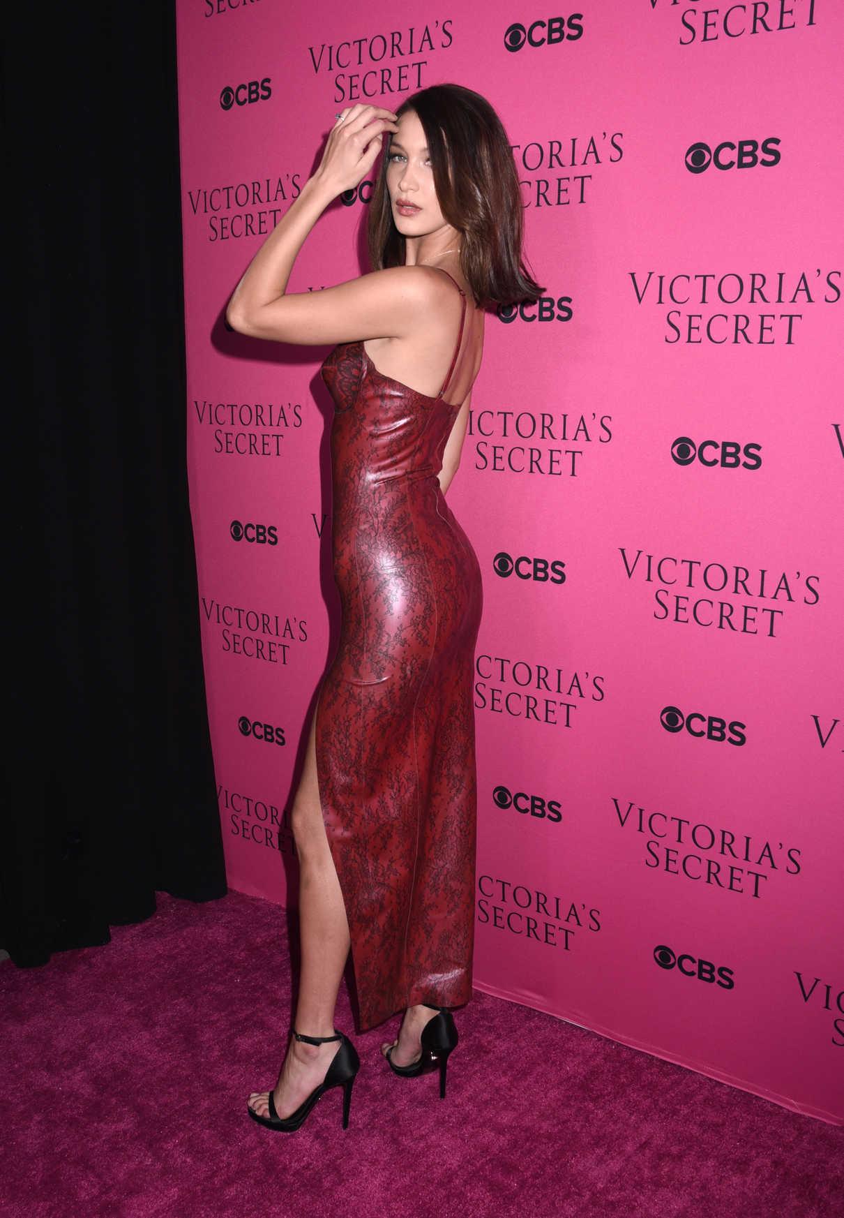 Bella Hadid at 2017 Victoria's Secret Fashion Show in New York 11/28/2017-4