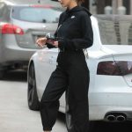 Bella Hadid Wears All Black Out in New York City 12/17/2017-4