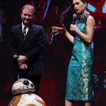 Daisy Ridley at the Star Wars: The Last Jedi Premiere in Shanghai 12/20/2017-4