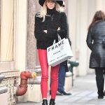 Devon Windsor Goes Shopping in NYC 12/19/2017