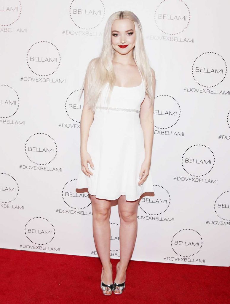 Dove Cameron at the Dove x BELLAMI Collection Launch Party in Culver City 12/02/2017-1