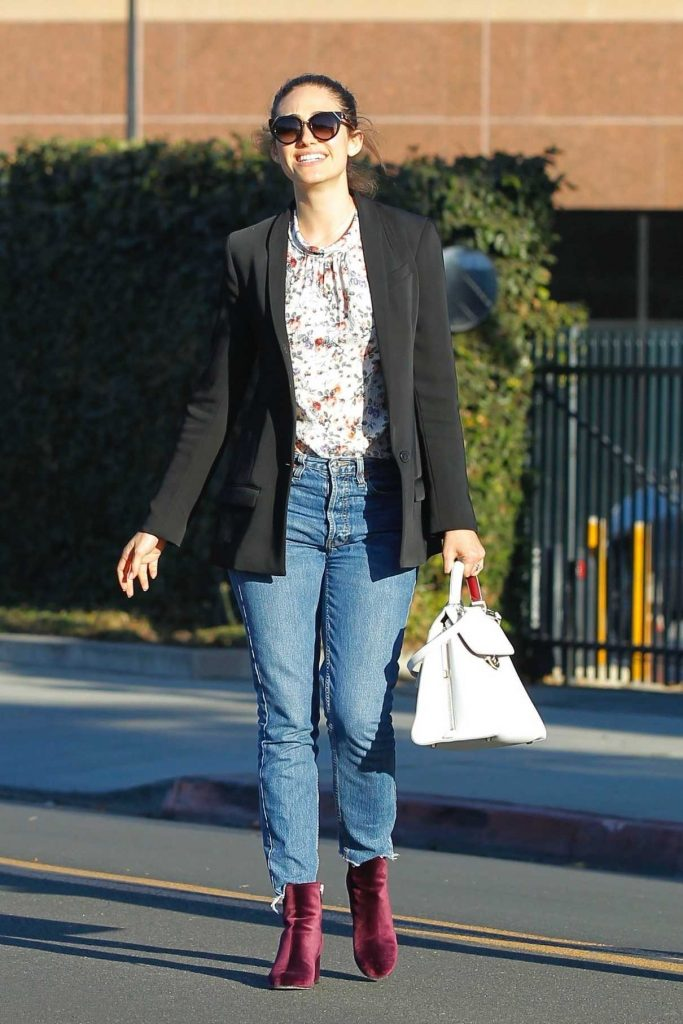 Emmy Rossum Out for Shopping in Beverly Hills 12/05/2017-1
