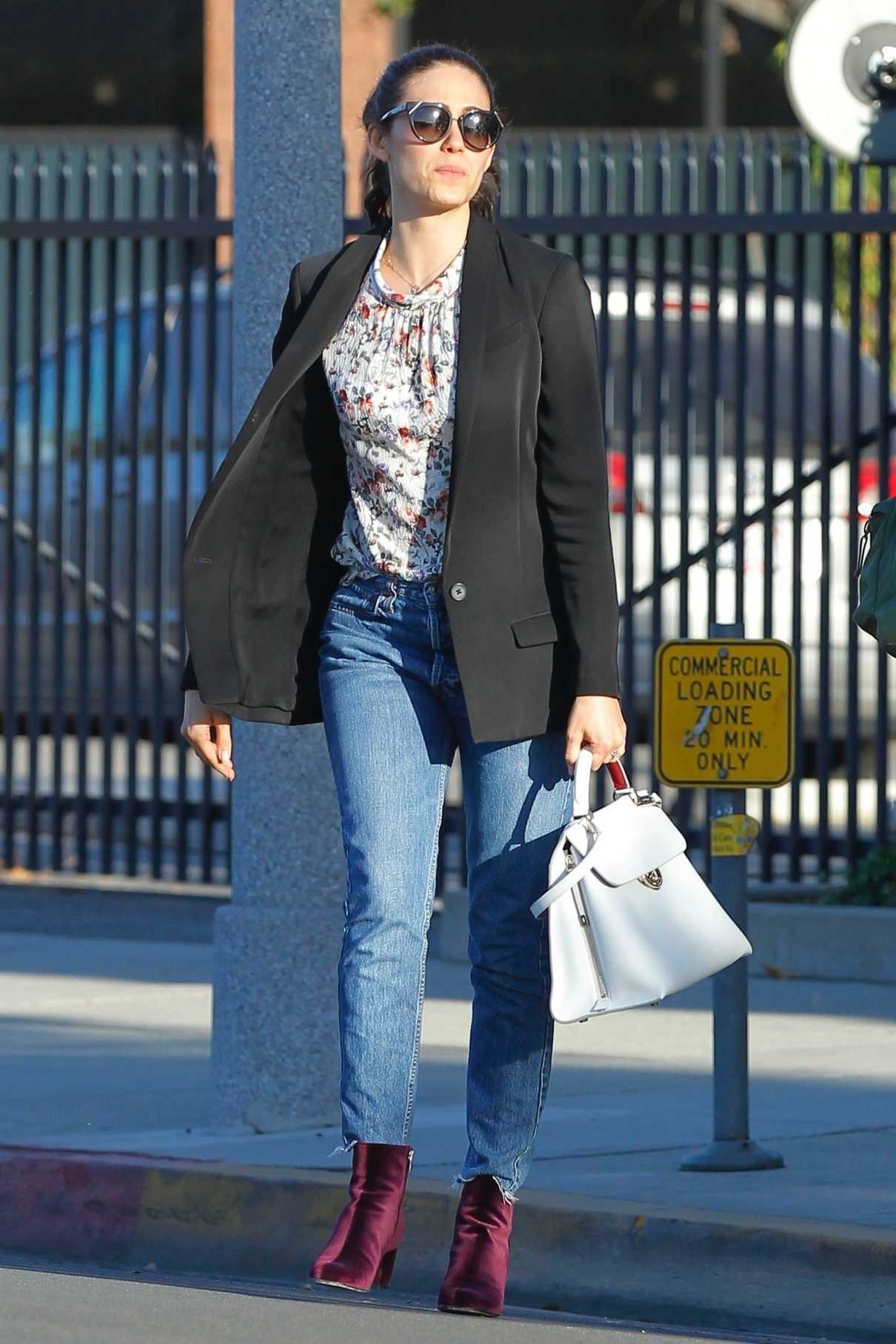 Emmy Rossum Out for Shopping in Beverly Hills 12/05/2017-2