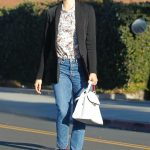 Emmy Rossum Out for Shopping in Beverly Hills 12/05/2017-5