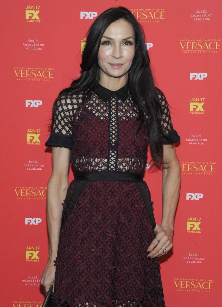 Famke Janssen at The Assassination of Gianni Versace: American Crime Story Screening at Metrograph in New York City 12/11/2017-2