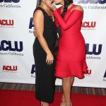 Gina Rodriguez at ACLU SoCal's Annual Bill of Rights Dinner at the Beverly Wilshire Four Seasons Hotel in Beverly Hills 12/03/2017-4