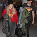 Hilary Duff Arrives at LAX Airport in Los Angeles 12/21/2017-4