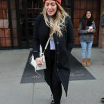 Hilary Duff Leaves Her Hotel in NYC 12/20/2017-3