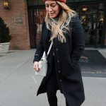 Hilary Duff Leaves Her Hotel in NYC 12/20/2017-5