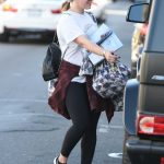 Hilary Duff Was Seen Out in Studio City 12/08/2017-4