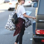 Hilary Duff Was Seen Out in Studio City 12/08/2017-5