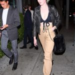 Ireland Baldwin Arrives at Sur Restaurant in West Hollywood 12/04/2017-2