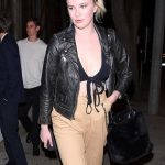 Ireland Baldwin Arrives at Sur Restaurant in West Hollywood 12/04/2017-4