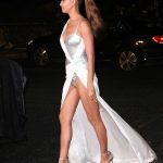 Irina Shayk Leaves 2017 British Fashion Awards at the Royal Albert Hall in London 12/04/2017-3