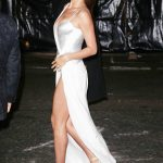 Irina Shayk Leaves 2017 British Fashion Awards at the Royal Albert Hall in London 12/04/2017-4