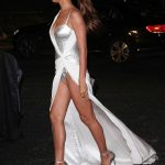 Irina Shayk Leaves 2017 British Fashion Awards at the Royal Albert Hall in London 12/04/2017-5