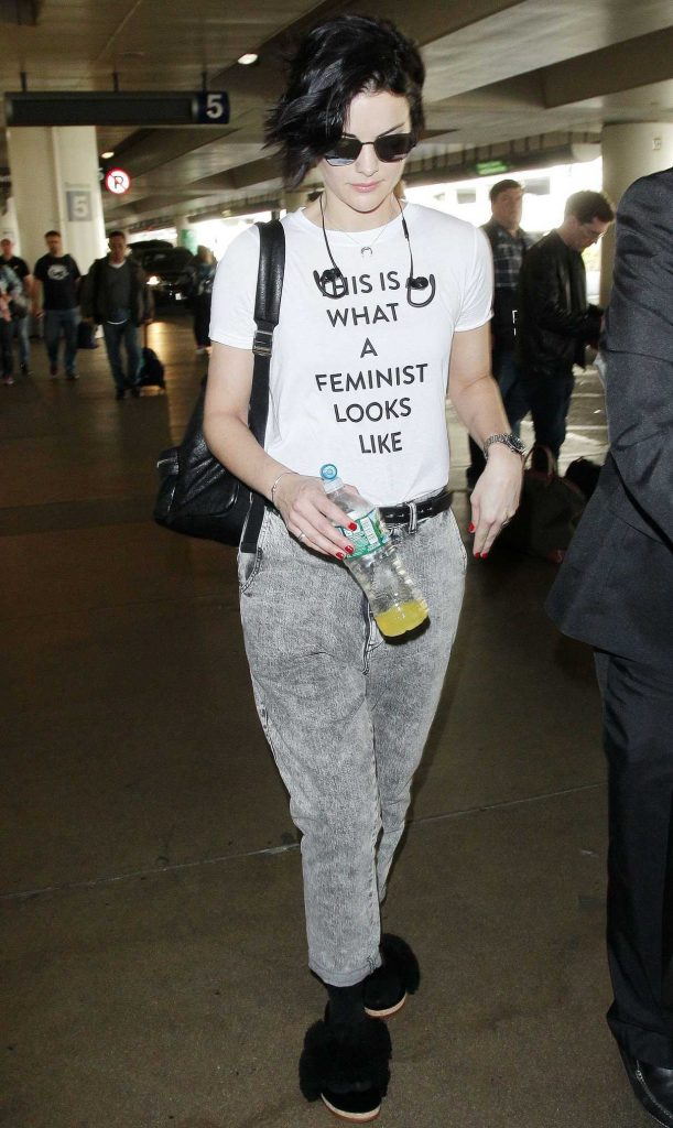 Jaimie Alexander Arrives at LAX Airport in Los Angeles 12/16/2017-1