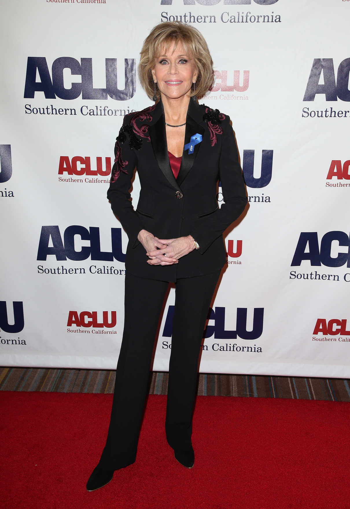 Jane Fonda at ACLU SoCal's Annual Bill of Rights Dinner at the Beverly Wilshire Four Seasons Hotel in Beverly Hills 12/03/2017-2