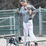 Joanna Krupa Takes Her Dogs to the Dog Park in Hollywood 12/11/2017-2