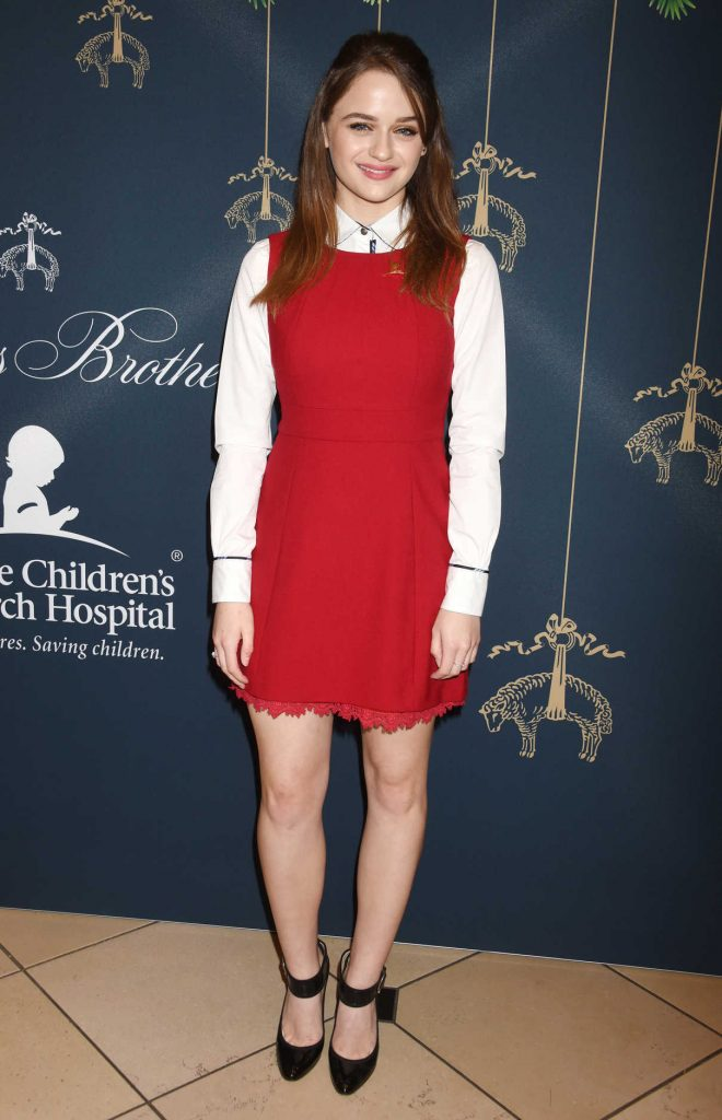 Joey King at the Brooks Brothers Holiday Celebration With St Jude Children's Research Hospital in Beverly Hills 12/02/2017-1