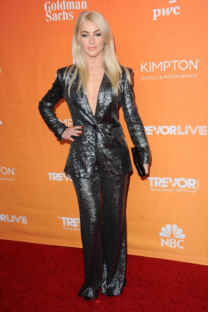 Julianne Hough at the TrevorLIVE Fundraiser in Los Angeles 12/03/2017-1