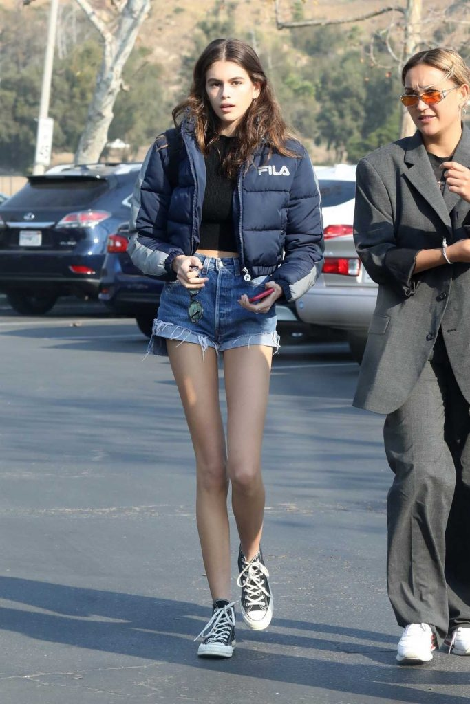 Kaia Gerber Grabs Breakfast with Friends in Malibu 12/16/2017-1