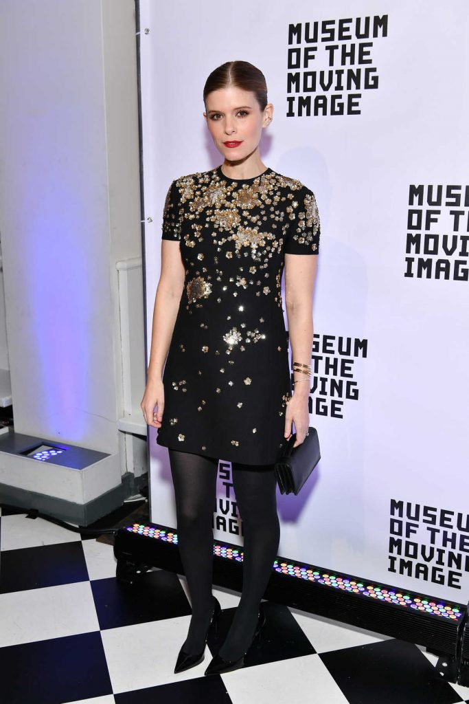 Kate Mara Attends the Museum of the Moving Image Salute to Annette Bening in NYC 12/13/2017-1