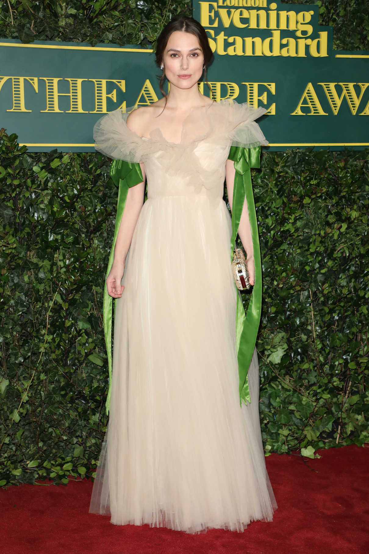 Keira Knightley at the London Evening Standard Theatre Awards at Theatre Royal in London 12/03/2017-2