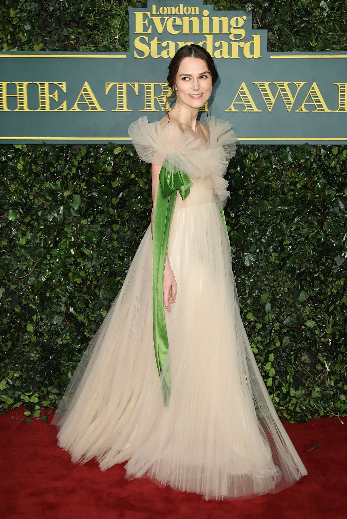 Keira Knightley at the London Evening Standard Theatre Awards at Theatre Royal in London 12/03/2017-3
