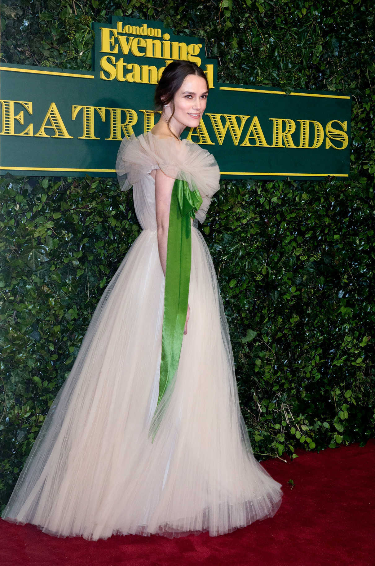 Keira Knightley at the London Evening Standard Theatre Awards at Theatre Royal in London 12/03/2017-4