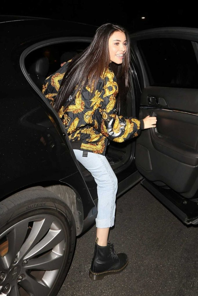 Madison Beer Arrives Poppy Night Club in West Hollywood 12/14/2017-1