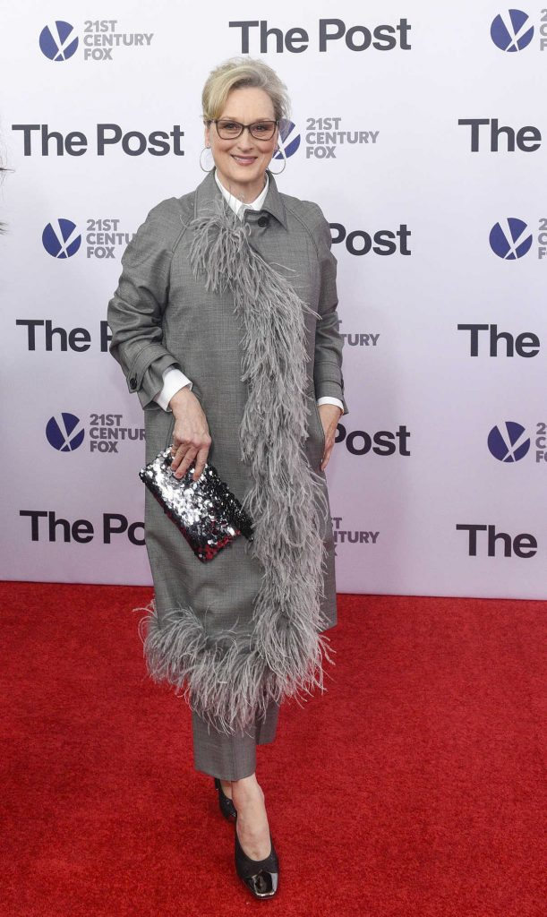 Meryl Streep at The Post Premiere in Washington 12/14/2017-1