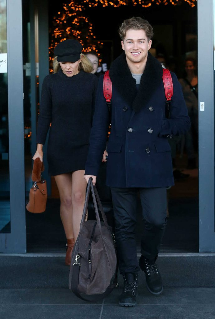 Mollie King Leaves Her Hotel in London 12/16/2017-1