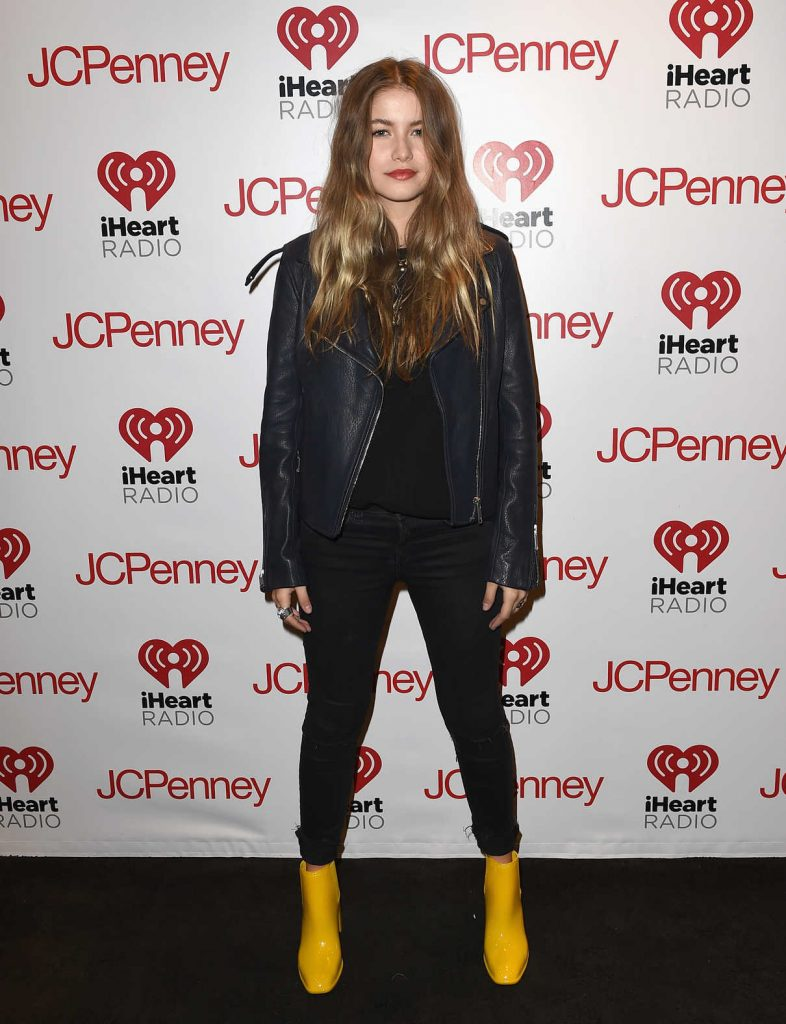Sofia Reyes at iHeartRadio Mi Musica with Becky G in Burbank 12/14/2017-1
