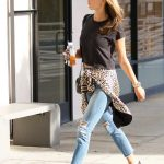Alessandra Ambrosio Was Spotted Out in Brentwood 01/29/2018-4