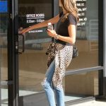 Alessandra Ambrosio Was Spotted Out in Brentwood 01/29/2018-5