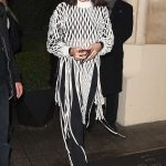 Bella Hadid Arrives at Hotel Costes in Paris 01/20/2018-2