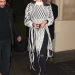 Bella Hadid Arrives at Hotel Costes in Paris 01/20/2018-3