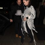 Bella Hadid Arrives at Hotel Costes in Paris 01/20/2018-4