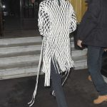 Bella Hadid Arrives at Hotel Costes in Paris 01/20/2018-5