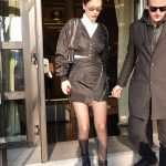 Bella Hadid Was Seen Out in Milan 01/14/2018-2
