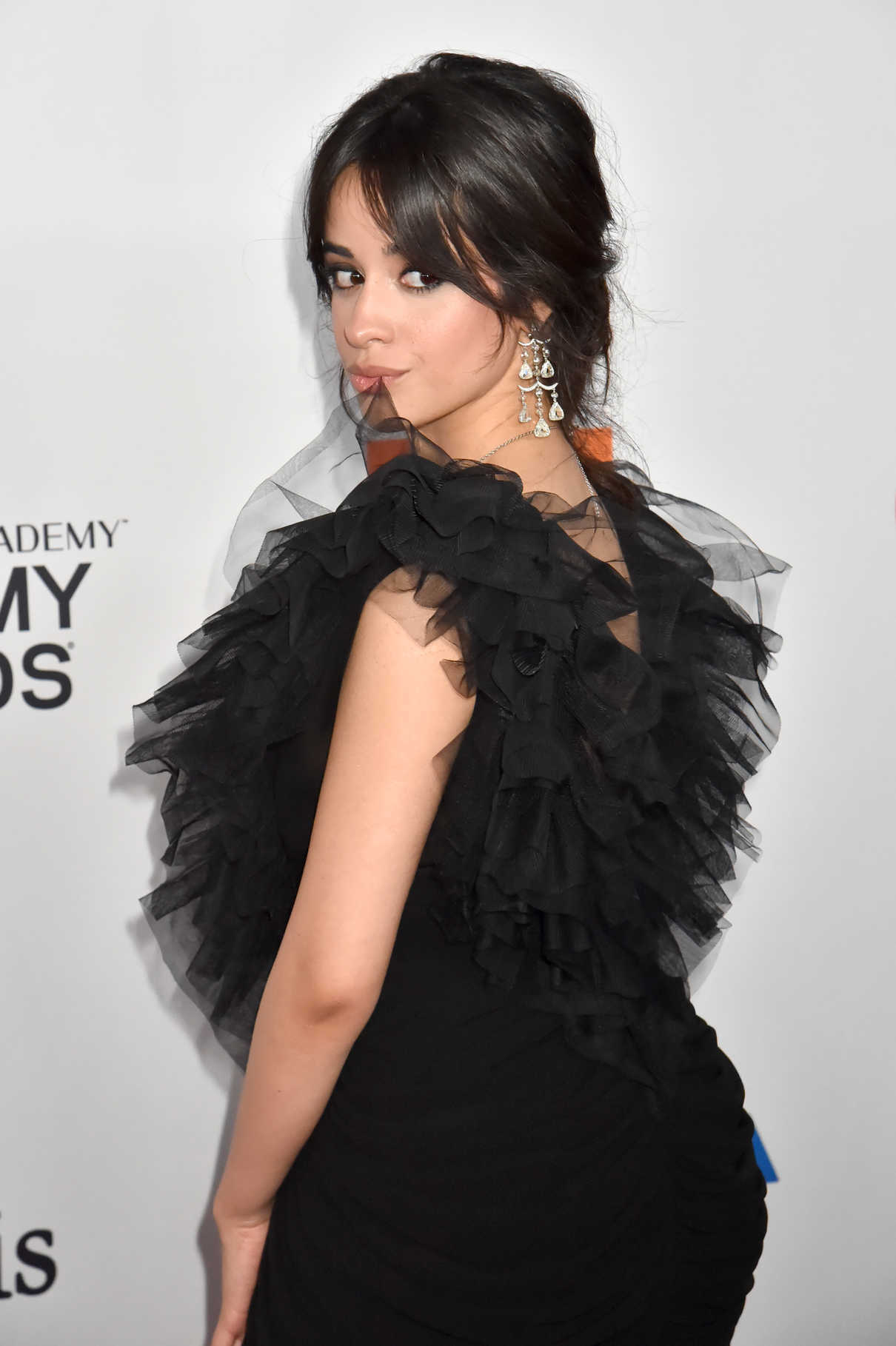 Camila Cabello at the Clive Davis and Recording Academy Pre-Grammy Gala and Grammy Salute to Industry Icons in New York 01/27/2018-4