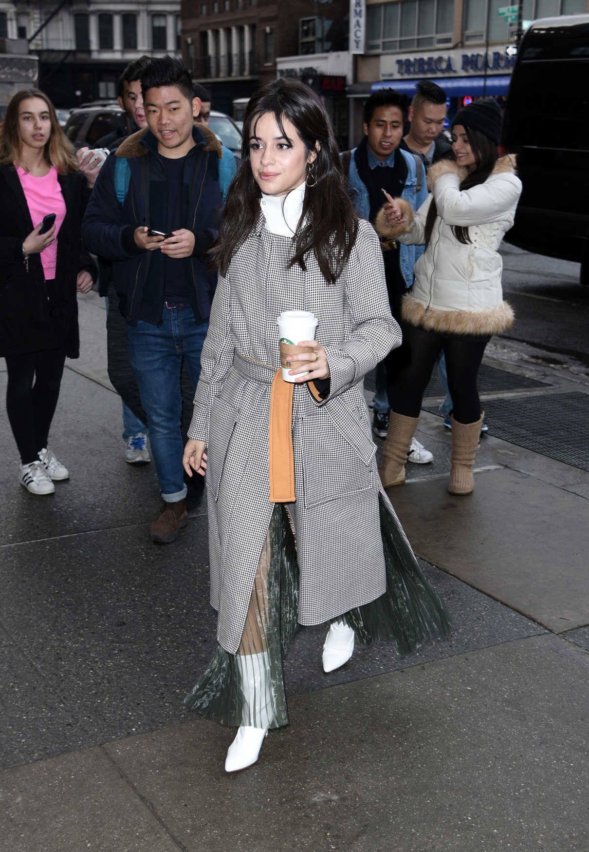 Camila Cabello Visits Z-100 Studios in NYC 01/11/2018-3