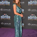 Chloe Bennet at the Black Panther Premiere in Hollywood 01/29/2018-2