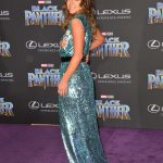 Chloe Bennet at the Black Panther Premiere in Hollywood 01/29/2018-3