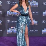Chloe Bennet at the Black Panther Premiere in Hollywood 01/29/2018-4