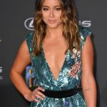 Chloe Bennet at the Black Panther Premiere in Hollywood 01/29/2018-5