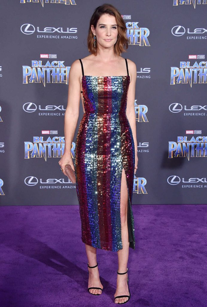 Cobie Smulders at the Black Panther Premiere in Hollywood 01/29/2018-1